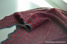 Sunny with a Chance of Knitting: woven