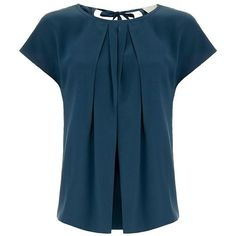 Wagner Teal Sleeveless Silk Blouse ❤ liked on Polyvore featuring tops, blouses, silk tops, sleeveless silk blouse, blue sleeveless top, sleeveless blouse and sleeveless tops