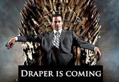 Si Mad Men fuese Game of Thrones: Don Draper defiende su trono de hierro en SCDP (5x09)