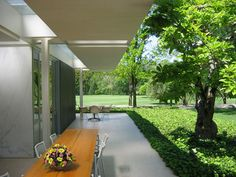 daniel urban kiley / miller house (eero saarinen), columbus indiana