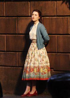 Saoirse Ronan as Eilis Lacey in Brooklyn. More