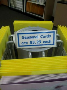 Don't pay $3.29 or MORE for generic greeting cards! Get Custom cards that you type (even with your own signature and pictures!) We address, stamp and mail it for you, for $1 ! ONE! You can add gifts too! Try it out by sending a FREE card today!   http://www.sendoutcards.com/ava
