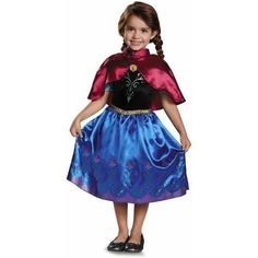 Frozen Traveling Anna Toddler Classic Halloween Costume