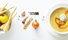 Thomasina Miers' spiced parsnip soup with fried apple
