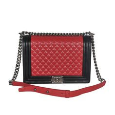 chanel bags,cheap chanel bags  2013 Chanel Boy Flap Shoulder Bag Lambskin Leather  Red