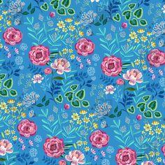 Pimlada Phuapradit Blue Garden Duvet Cover | DENY Designs Home Accessories
