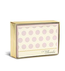 #pink & #polkadots love this combination #stationery