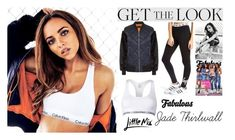 """Jade Thirlwall  Little Mix Fabulous Magazine UK November 2016"" by valenlss ❤ liked on Polyvore featuring Calvin Klein, Hype and modern"