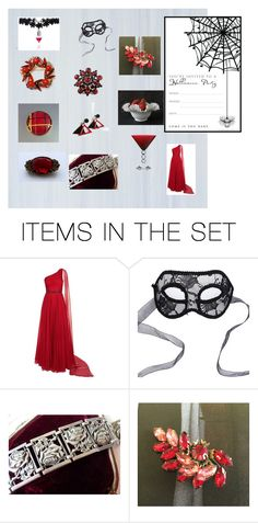 """Halloween party"" by underlyingsimplicity ❤ liked on Polyvore featuring art"
