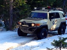 Toyota FJ Cruiser Search and Rescue vehicle.