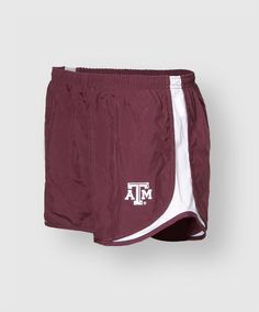 Women's Texas A&M Tempo Shorts by Nike. Comes in maroon, black, and white. #AggieGifts #AggieStyle #AggiePerformance