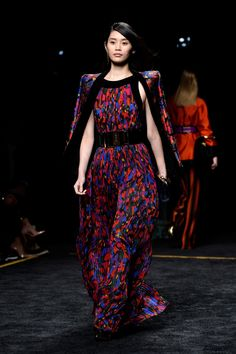 Spotted on Balmain's runway: a LOT of Victoria's Secret Angels, including Ming Xi. See everyone who walked the show.