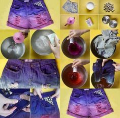 Customizando shorts