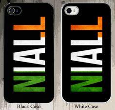 1 Direction Niall Horan Flag Design Custom 1D 1 D Harry Styles Zayn Malik Liam Payne iPhone Case - Fits iPhone 5S or 4S buyer choice. $16.00, via Etsy.