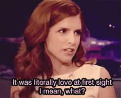 brittany snow gifs | mean Anna Kendrick Brittany Snow m* pitch perfect sendrick it was ...