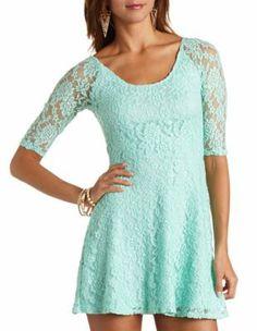 raglan lace skater dress Recruitment Dress!