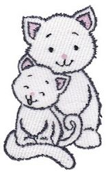 Precious Kittens 15 - 2 Sizes! | What's New | Machine Embroidery Designs | SWAKembroidery.com Bunnycup Embroidery