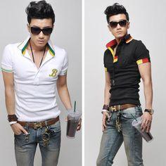 Thailand men fashion polo shirt | Men's Apparel | Pinterest ...