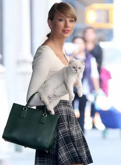 Taylor Swift Explains Why She's Always Spotted Carrying Her Cat Around New York