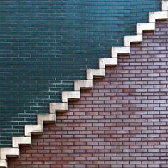 Fotógrafo holandês Dirk Bakker nos presenteia com seu mundo de linhas e formas