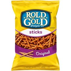 Between the one-of-a-kind flavor & crispy texture of ROLD GOLD pretzels, you'll fall in love with this baked snack. Try them with peanut butter, hummus or on their own to take your break to a whole new level! Low Fat Snacks, No Bake Snacks, Salty Snacks, Pretzel Brands, Homemade Honey Mustard, Pretzel Sticks, Ben And Jerrys Ice Cream, Sweet And Salty, Corn Syrup