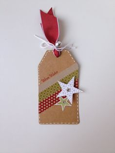 Stitch motif with gel pen - white or gloss.  Simple but cute - so easy with washi tape!