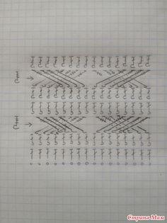 Crochet everything. Crochet Wrap Pattern, Crochet Stitches Patterns, Crochet Diagram, Crochet Chart, Crochet Motif, Crochet Designs, Knitting Patterns, Crochet Mens Scarf, Crochet Cable