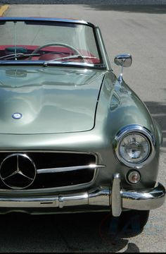 Cool 1960 Mercedes-Benz 190-Series. Click on the image to take yourself back #ThrowBackThursday #spon