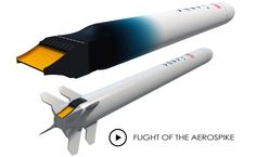 This summer, New Mexico-based aerospace company will be testing the aerospike engine, a concept which almost became part of the Space Shuttle Spaceship Art, Spaceship Design, Spaceship Concept, Drone Technology, Science And Technology, Best Glider, Space Warfare, Asteroid Mining, Future Transportation