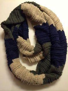DIY  Knitted Infinity Scarf Only takes 15-minutes by mariam Bufanda Hazlo  Tu Mismo bf6dd52d7da