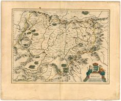 Old Map of TRANSYLVANIA