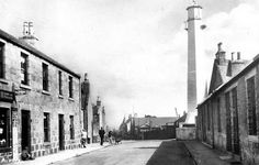 Tour Scotland Photographs: Old Photograph Torry Aberdeen Scotland