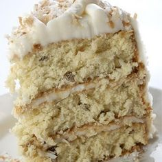 Italian Cream Cake - OMG!  I have been looking for this recipe since my trip to Italy over 10 years ago!