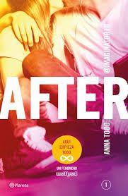 """""""After"""" de Anna Todd. Ficha elaborada por Alejandro Julián."""