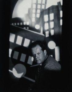 Sergey Eisenstein in the Spotlight, 1930; photo by Eugene Robert Richee