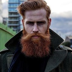 Ginger Beard: The combination of freckles and fiery fringe gives us goosebumps.