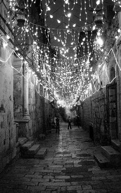 Ramadan lights.. Muslim Quarter of Jerusalem
