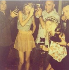 Taylor has won so many awards that her and her friends play with them like toys
