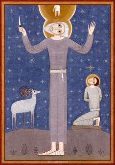 Witnesses Righteous Abraham contemporary icon 2015-2016 | Nikola Saric
