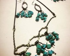 Browse unique items from MorellaJewellery on Etsy, a global marketplace of handmade, vintage and creative goods. Turquoise Necklace, Photo And Video, Trending Outfits, Unique Jewelry, Creative, Handmade Gifts, Etsy, Vintage, Instagram