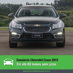 Após mostrar o Cruze renovado no Salão do Automóvel, a Chevrolet lança oficialmente a linha 2015 do modelo. Confira na matéria: https://www.consorciodeautomoveis.com.br/noticias/consorcio-chevrolet-cruze-2015-em-ate-80-meses-sem-juros?idcampanha=206&utm_source=Pinterest&utm_medium=Perfil&utm_campaign=redessociais