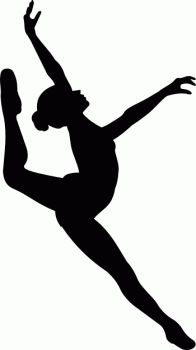free printable kids dance silouttes | Silhouette sport dance stock vector clipart, Silhouette ...