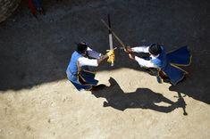 Nagyvázsony (Magyarország) - Kinizsi vár - Swordsmen - 9