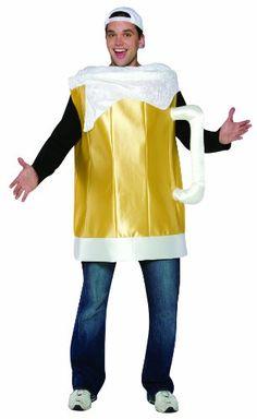 Rasta Imposta Beer Mug Costume , Gold, One Size for sale