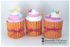 Another cupcake decoration with goodies