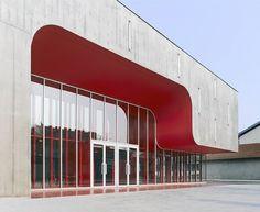 périphériques: regional centre of contemporary music in nancy | designboom