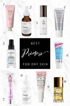 Best primers for dry skin moisturizr макияж, красивый макияж Primers, Skin Care Regimen, Skin Care Tips, Skin Tips, Makeup Tips Dry Skin, Skin Makeup, Makeup Tricks, Beauty Blogs, Skin Products