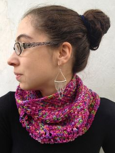 Free Knitting Pattern - Cowls and Neck Warmers: Impressionist Cowl