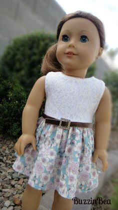 Lace and Lavender Poppy Dress by BuzzinBea on Etsy, $25.00