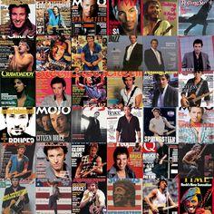Bruce magazine covers